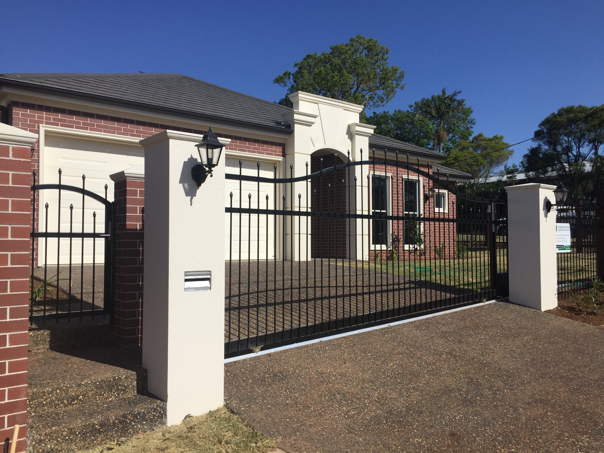 Sliding Gate For Garage Sliding Gates In Toowoomba Darling Downs Garage Doors And