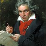 Beethoven wrote music on earth that reflects the glory of heaven