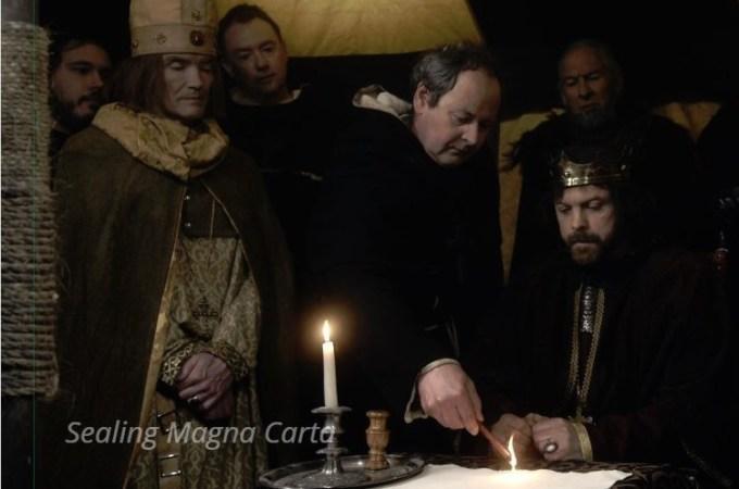 sealing Magna Carta