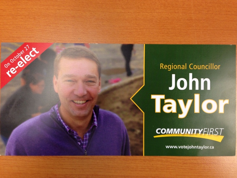 Taylor re-election brochure shows he is light on accomplishments and