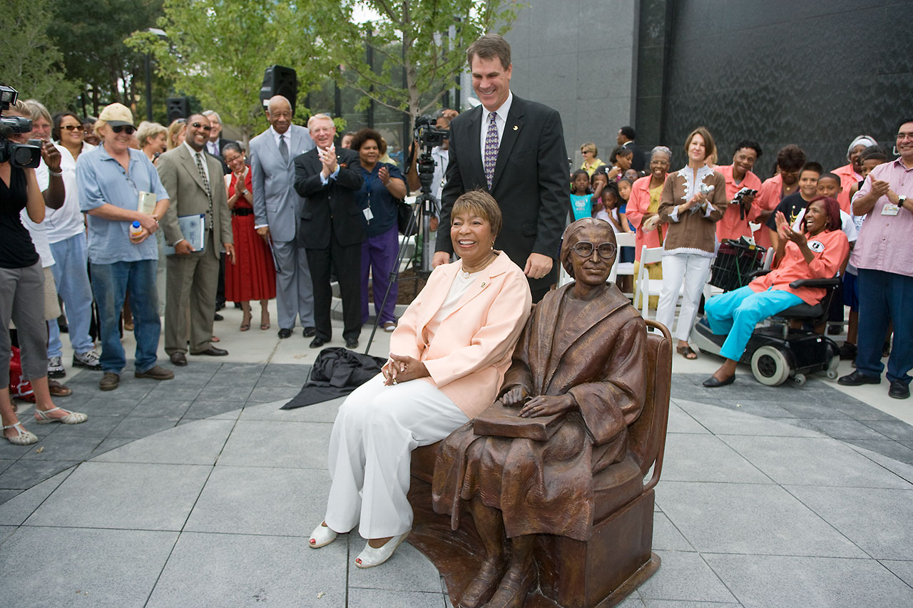 In Rosa Dart Celebrates The 60th Anniversary Of Rosa Parks Brave Act