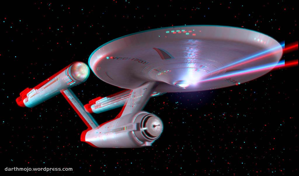 3d Wallpaper Red Blue Star Trek Introducing 3d Trek Darth Mojo