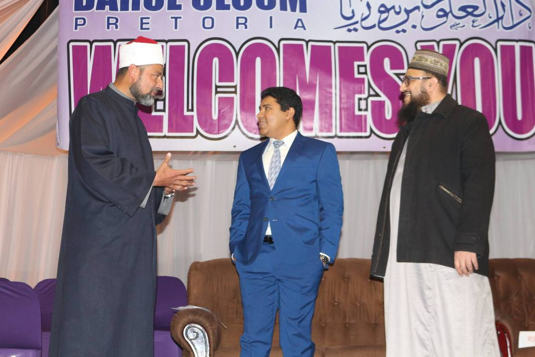 Ambassador of Trinidad & Tobago at Darul Uloom Pretoria