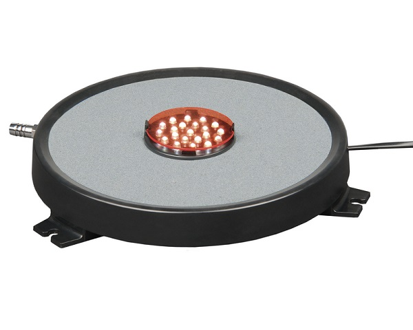 Levensduur Metalen Zwembad Superfish Led Airstone Ø 20 Cm Luchtsteen Met Led
