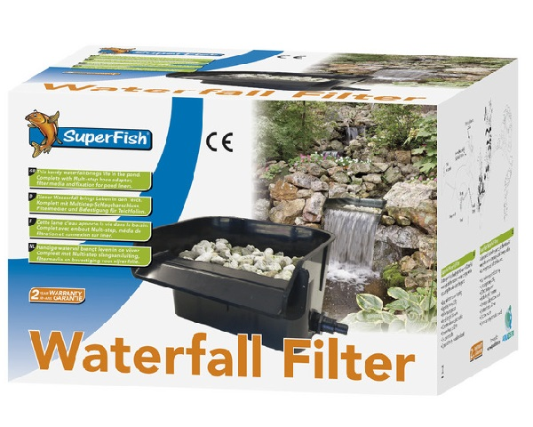 Water Filter Voor Zwembad Superfish Waterval Filter Waterfall | Daruma Koi