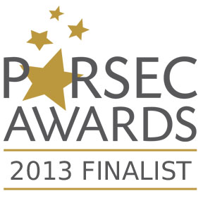 The Beauty of Our Weapons is a 2013 Parsec Award Finalist!