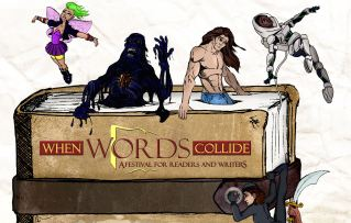 My 'When Words Collide' Schedule