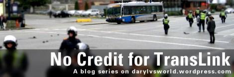 No Credit for TransLink - A blog series on darylvsworld.wordpress.com. Original photo: CC BY-SA Lisa Parker, flickr