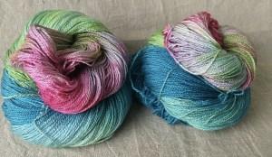 Bfl-Silk-Lace, handgefärbt