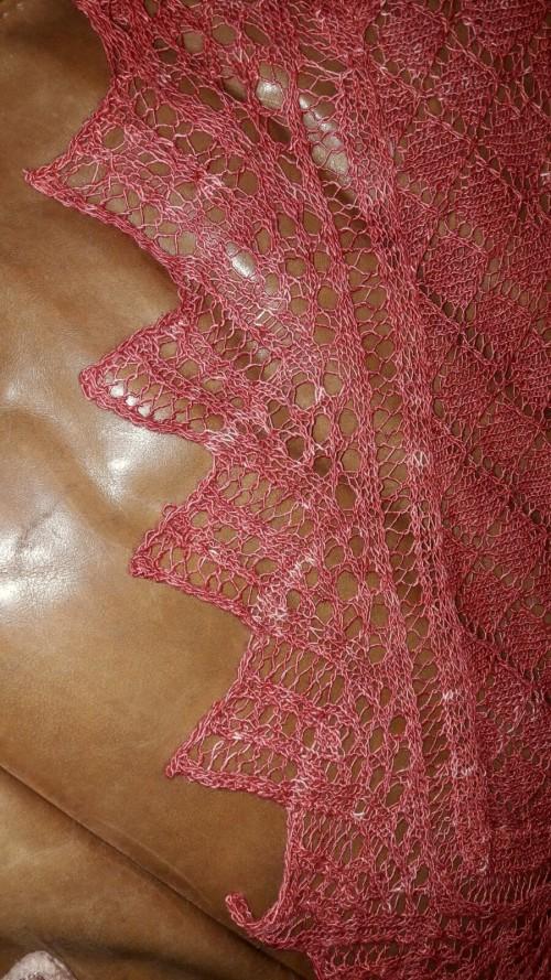 Uta-Maria Kummer, gestrickt aus Merino-Silk-Lace