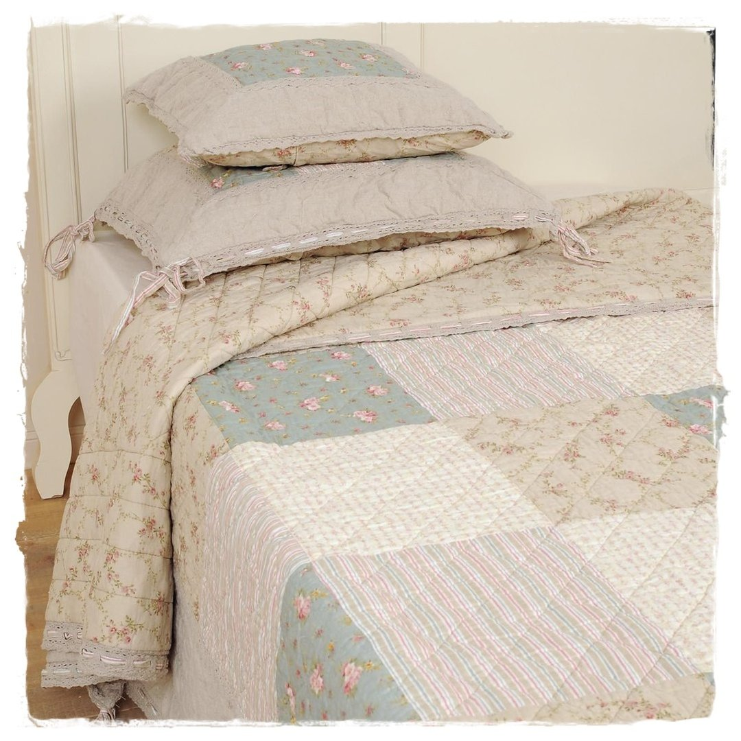 Patchwork Tagesdecke Country Living Tagesdecke Quilt 180x260cm Clayre And Eef