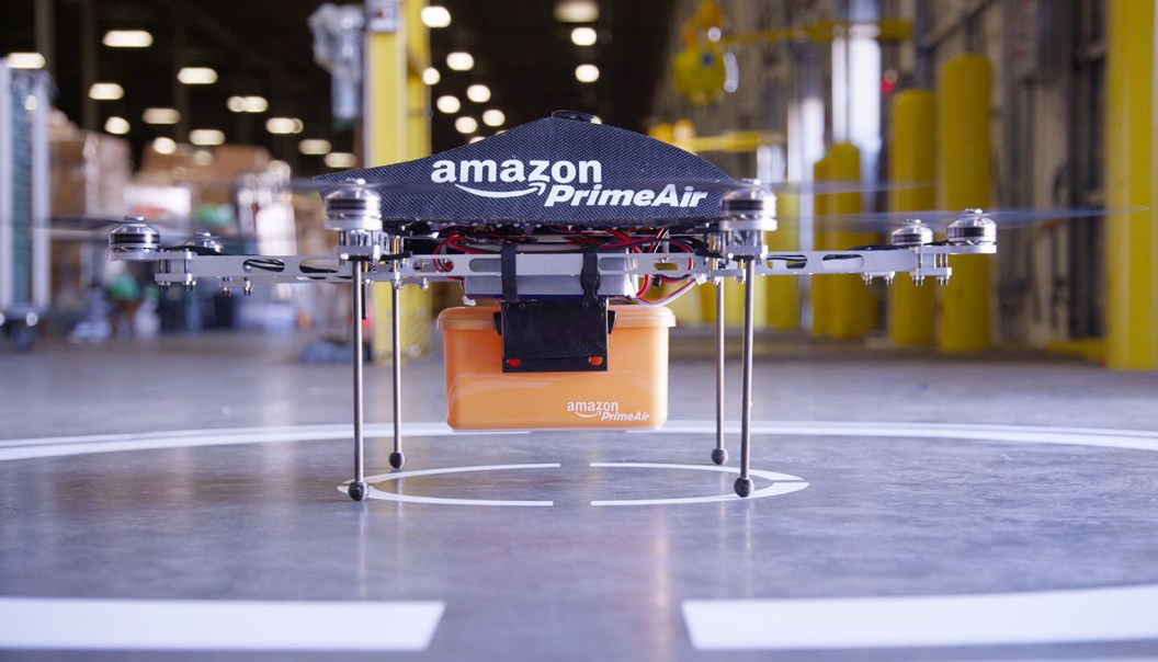 Amazon completes first drone delivery.