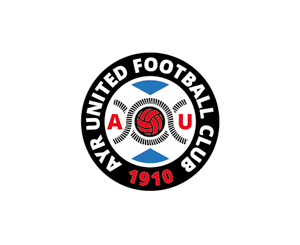 Ayr Utd redesigned badge - roundel version