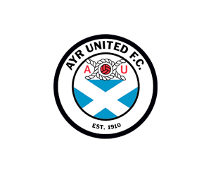 Ayr Utd circle badge