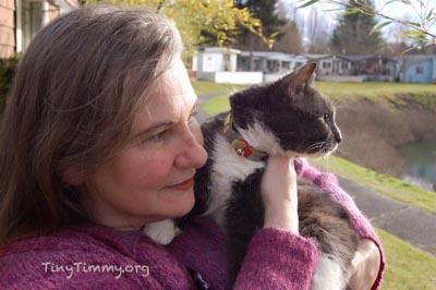 TinyTimmy.org Timmy and Mum