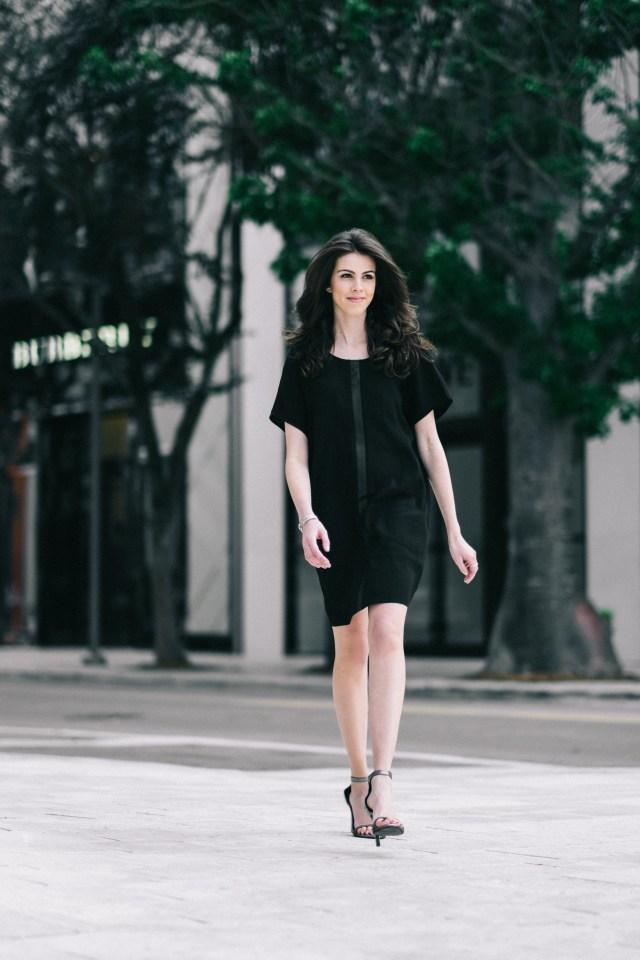 Miami Fashion Blogger - Madewell - Little Black Dress