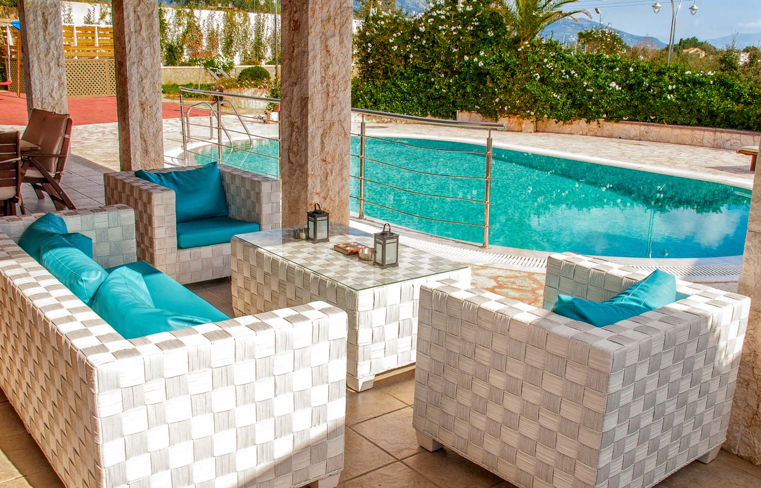 Luxury Holiday Villa With Pool Emily Family Luxury Holiday Pool Airbnb Villa Dassia Corfu 30