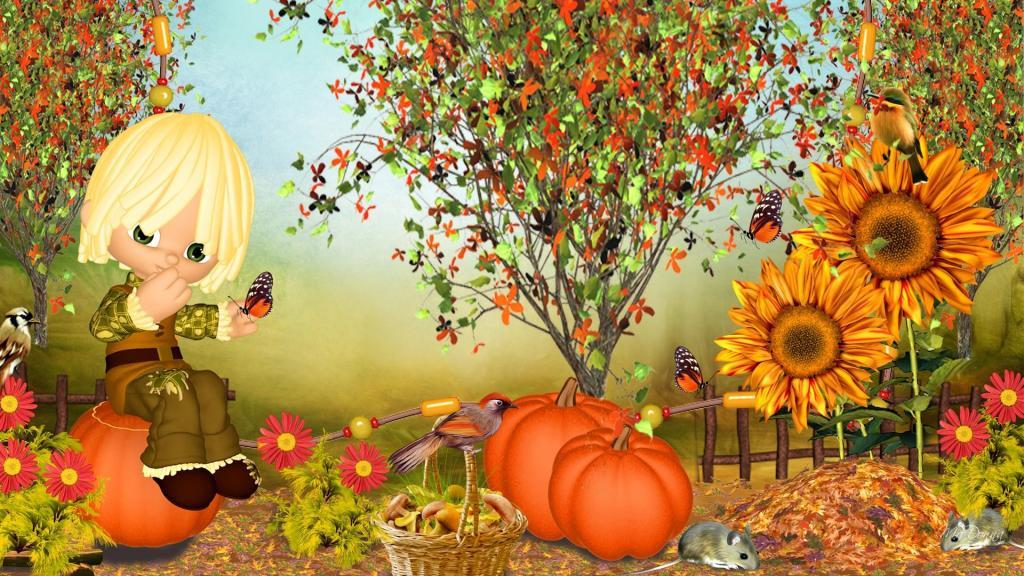 Free Fall Cartoon Wallpaper Fall Excitement Hd Desktop Wallpaper Widescreen High