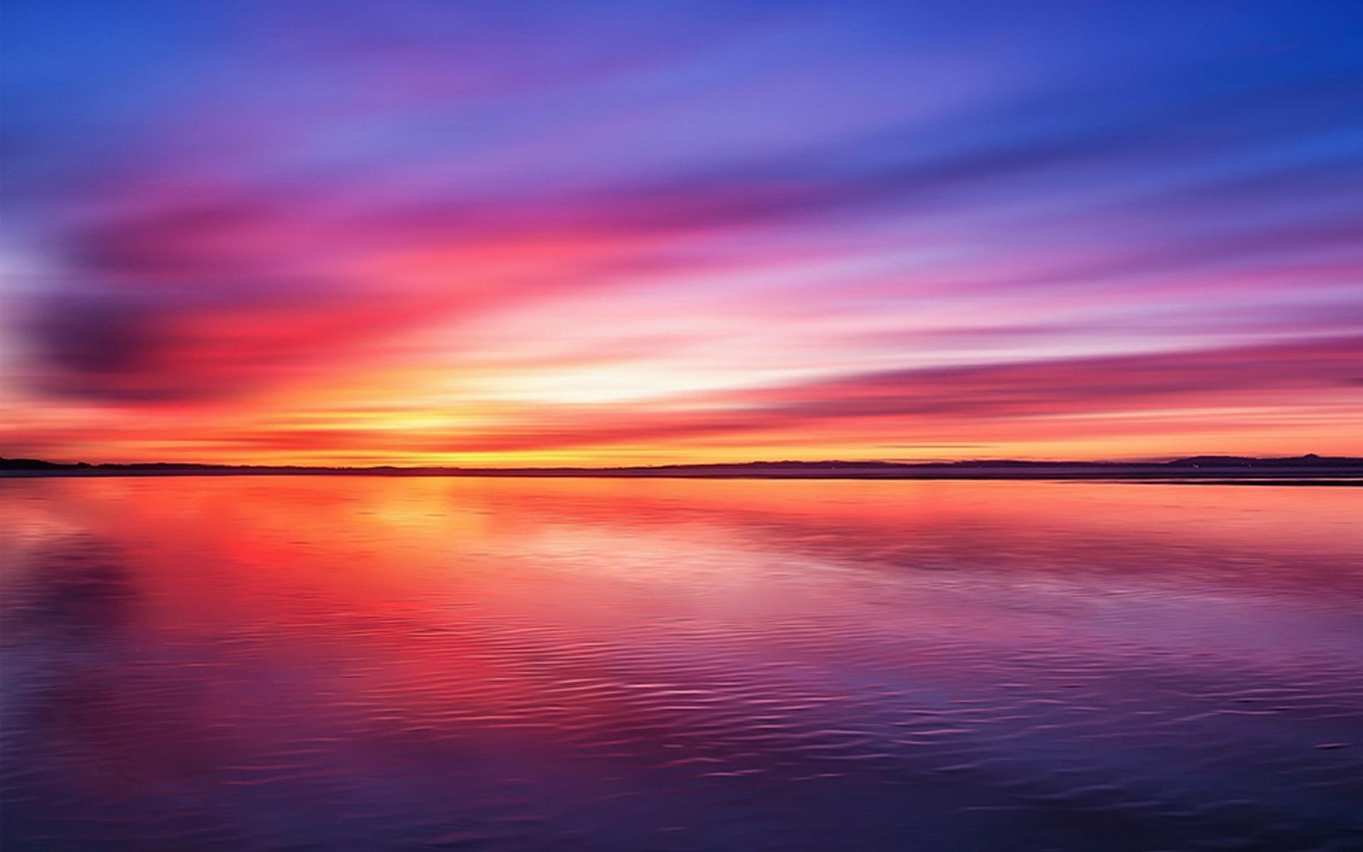 3d Rose Wallpaper Apps Amazing Pink Sunset At The Horizon Hd Desktop Wallpaper