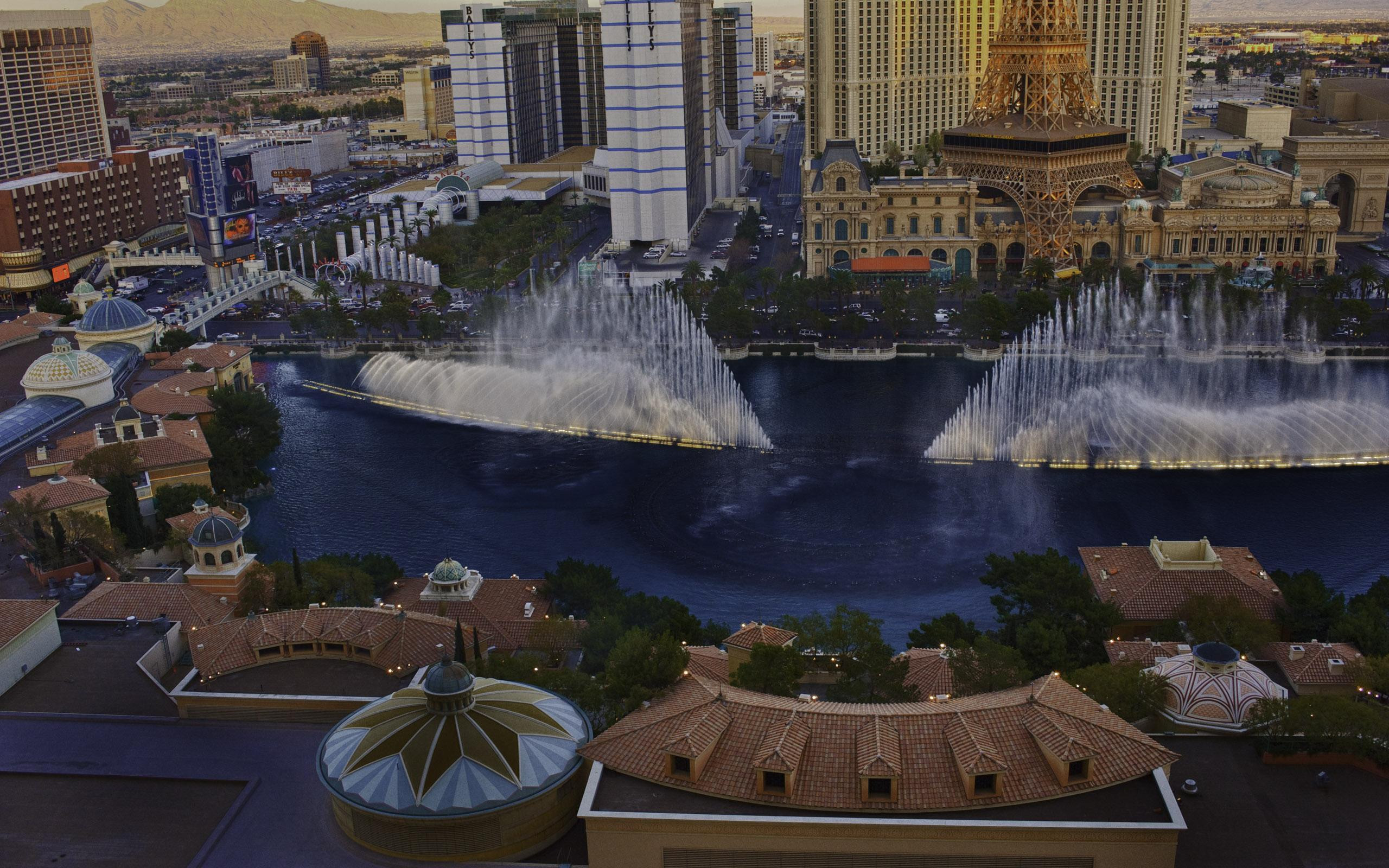 Las Vegas Strip Hd Wallpaper Bellagio Fountain Las Vegas Hd Desktop Wallpaper