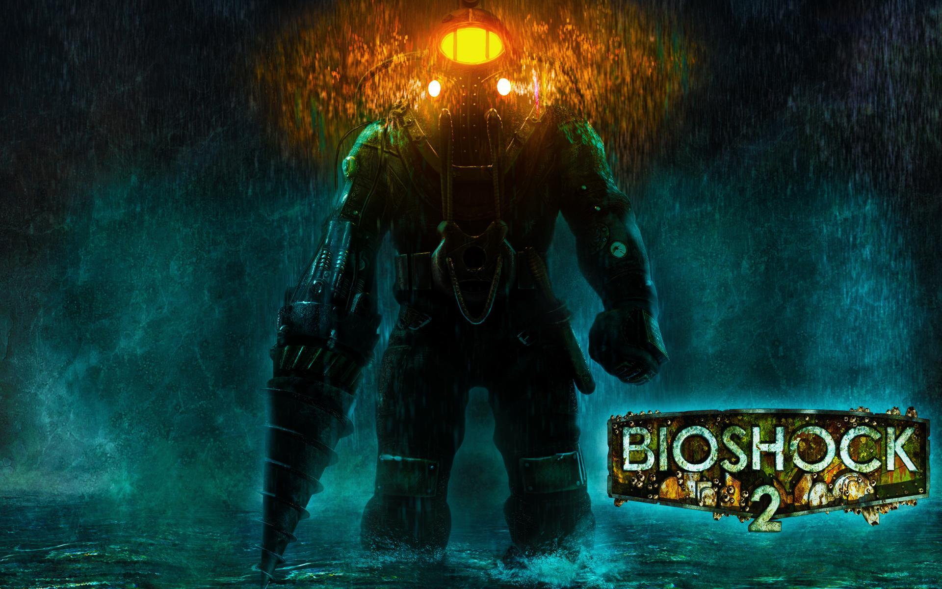 Epic Blue Car Wallpapers Bioshock 2 Revelation Hd Desktop Wallpaper Widescreen
