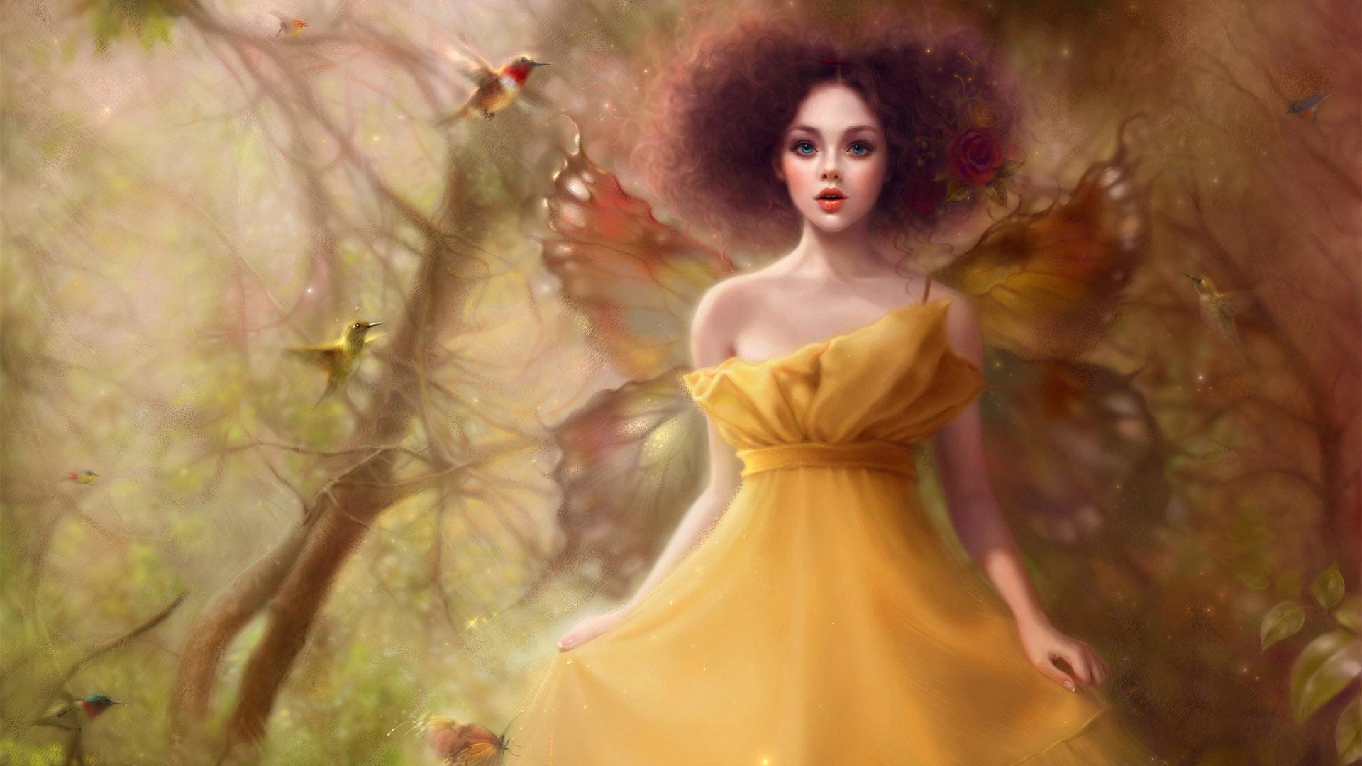 Princess Wallpaper Cute Pattern Butterfly Fairy Hd Desktop Wallpaper Widescreen High