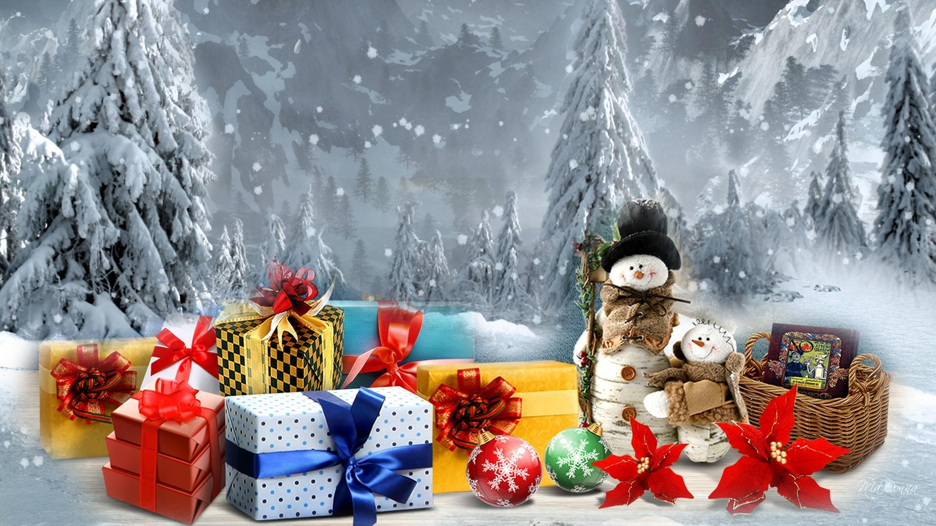 Animated Flowers Wallpapers Free Download Christmas Time Winter Time Hd Desktop Wallpaper