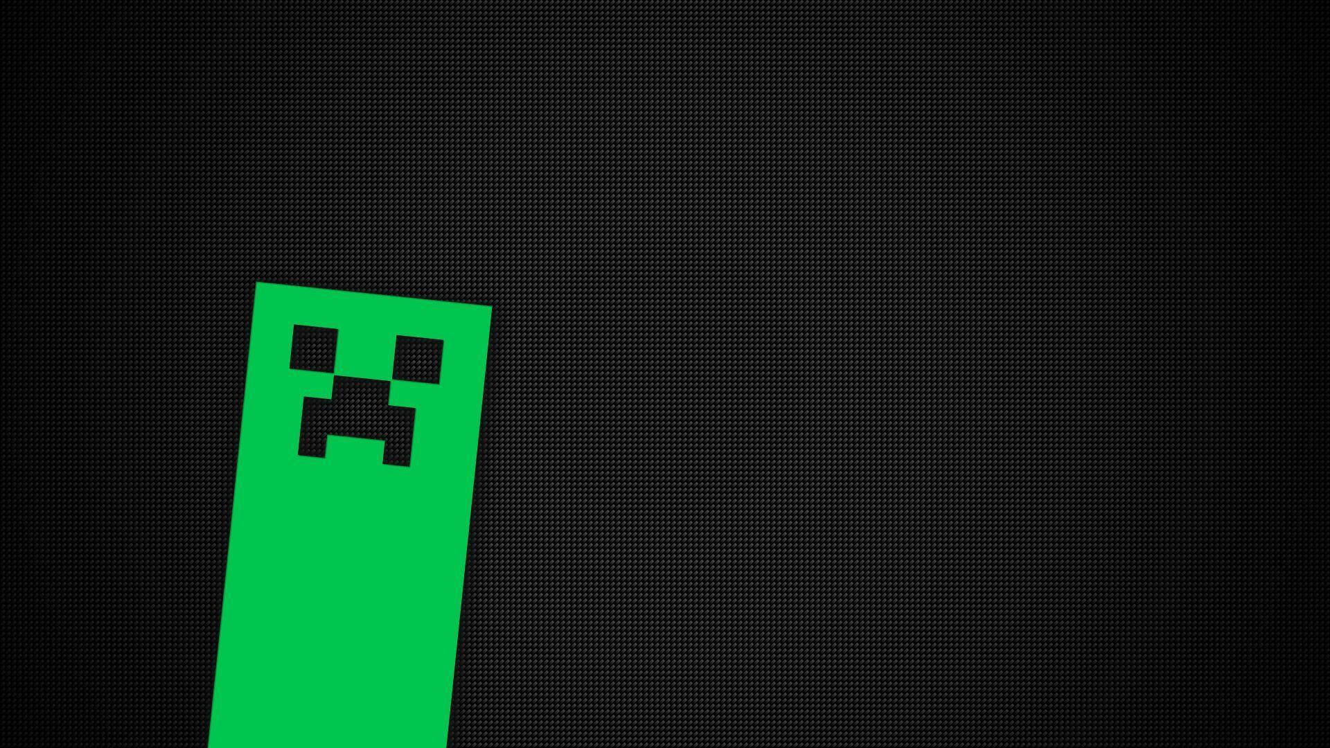 Creeper Wallpaper Hd Creeper Face In Minecraft Hd Desktop Wallpaper