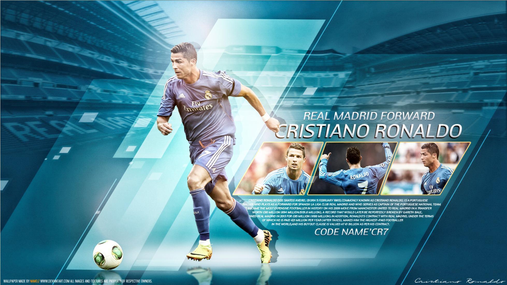 Real Madrid D Fly Emirates Cristiano Ronaldo Real Madrid 2014 Hq Hd Desktop Wallpaper