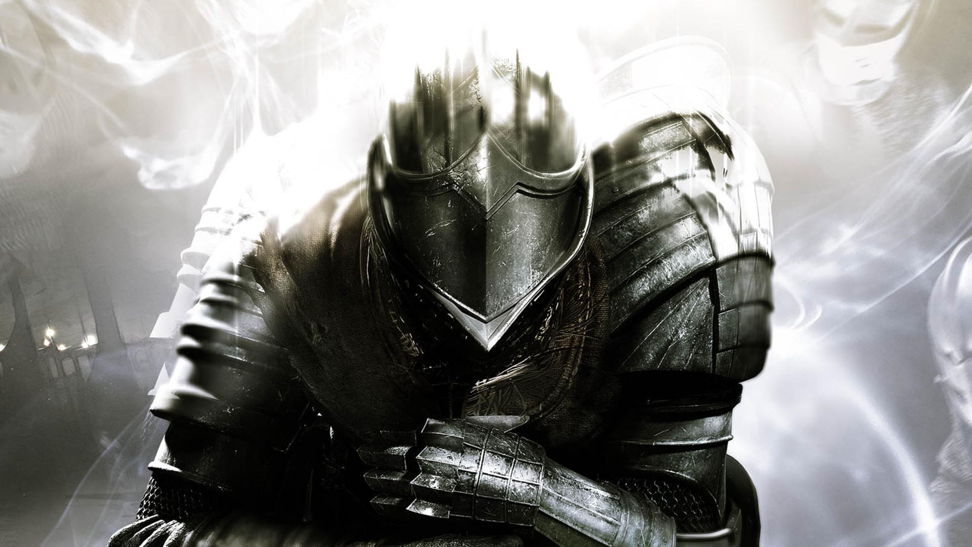 Dark Souls Animated Wallpaper Dunkle Seelen Elite Knight Hd Desktop Hintergrund