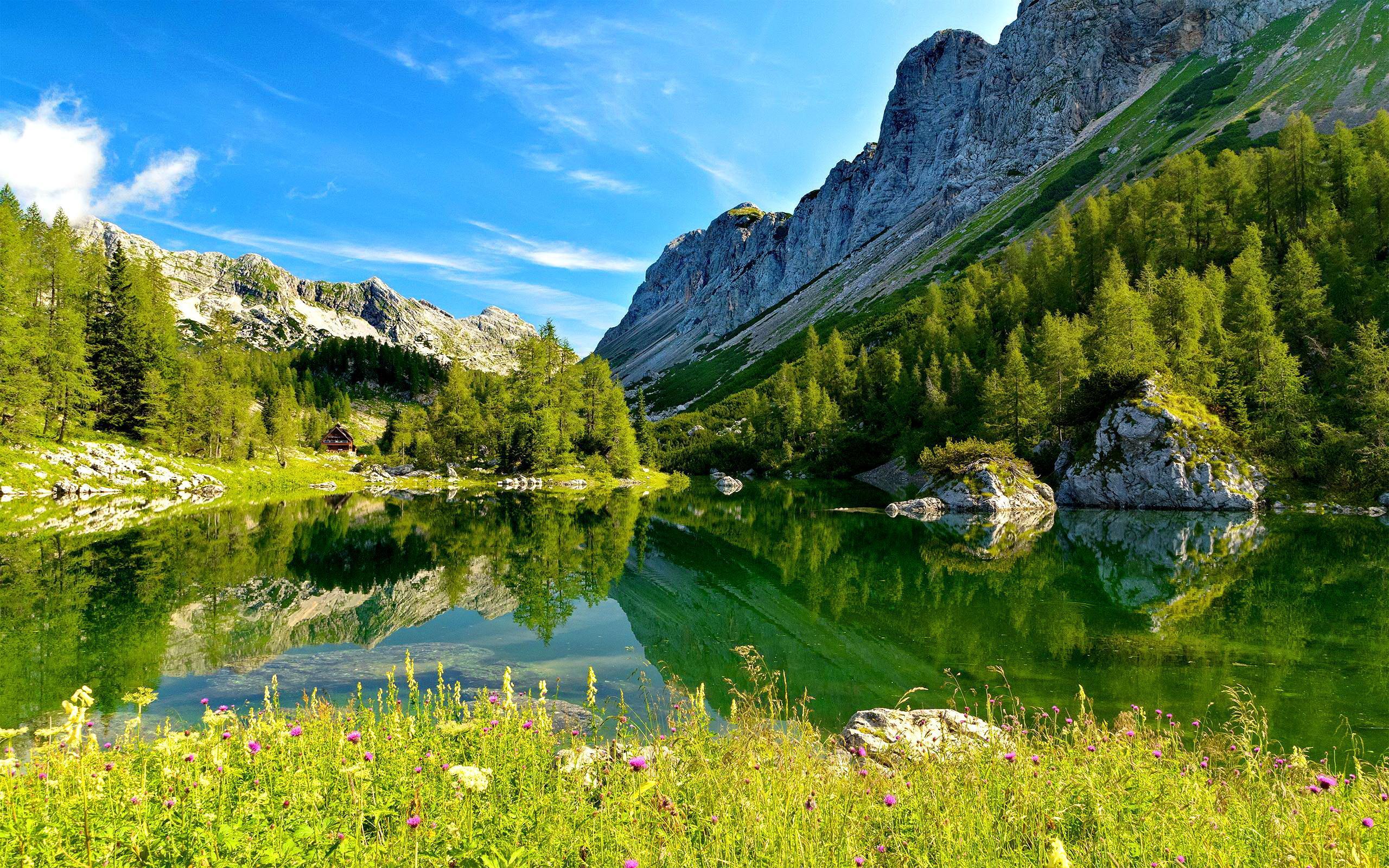 3d Wallpaper Androis 特里格拉夫湖,斯洛文尼亚高清桌面壁纸:宽屏:高清晰度:全屏