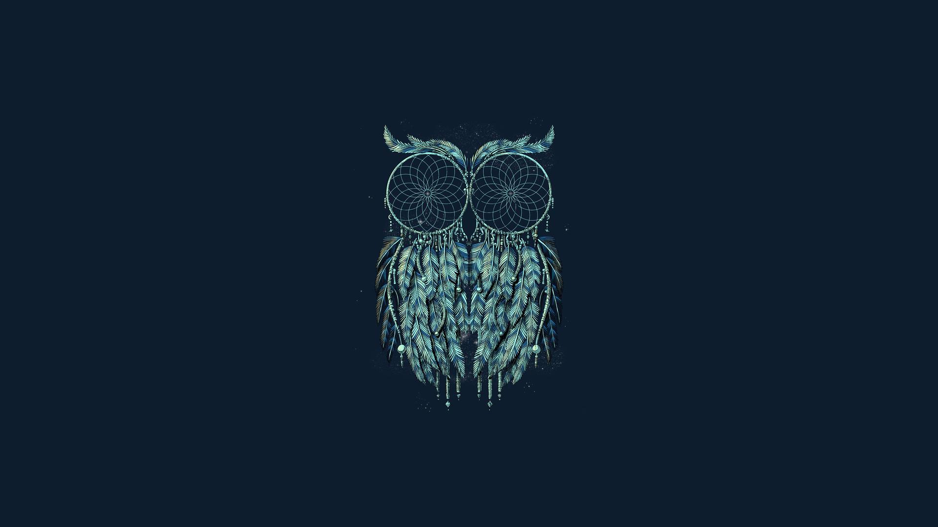 Cool Lion Wallpapers Hd Owl Dreamcatcher Hd Desktop Wallpaper Widescreen High