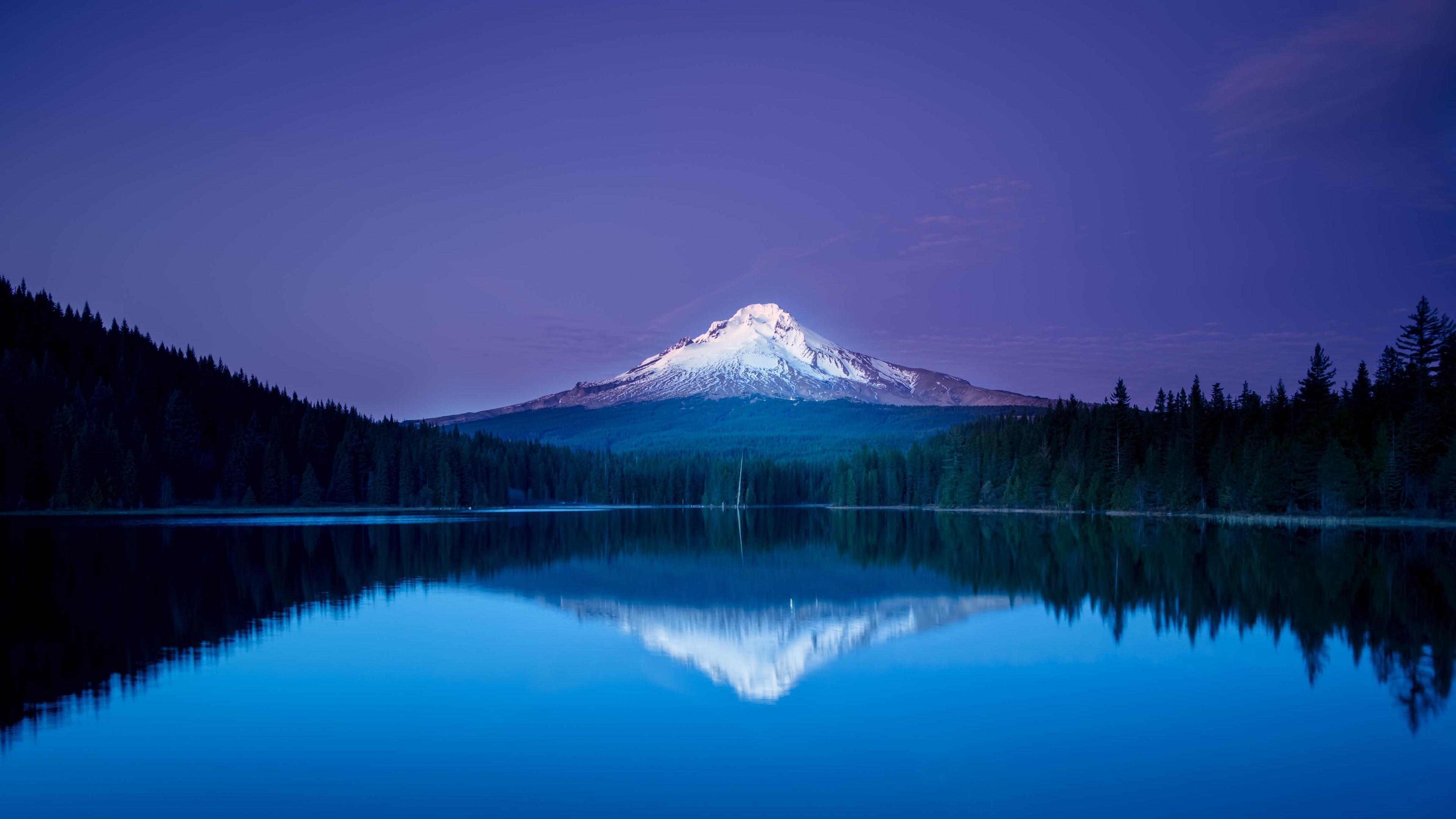 Only Hd Wallpapers Girl Peaceful Blue Sunset Hd Desktop Wallpaper Widescreen