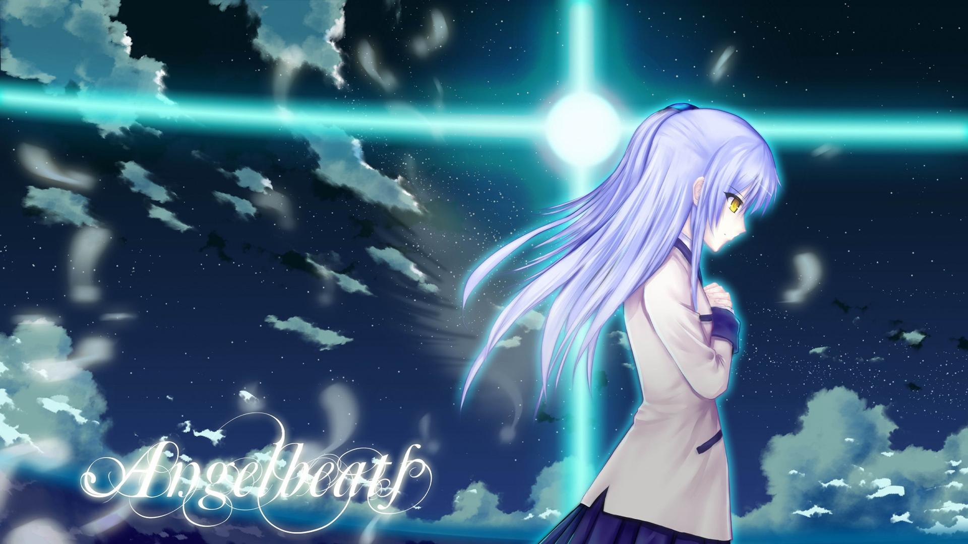 3d Wallpaper Sword Art Online Interactive Hd Praying Kanade Tachibana Angel Beats Hd Desktop