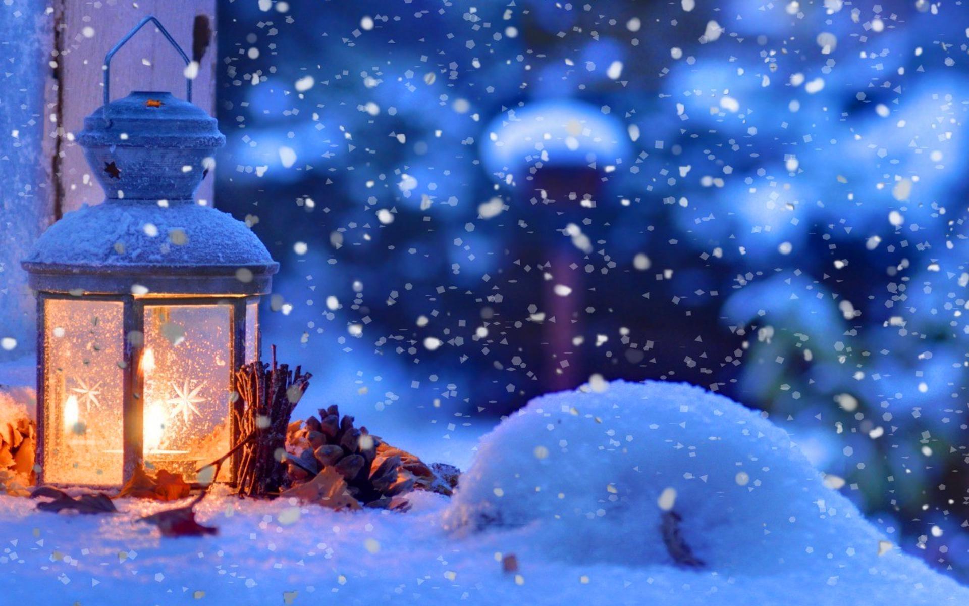 Microsoft Animated Wallpaper Winter Laterne Hd Desktop Hintergrund Widescreen High