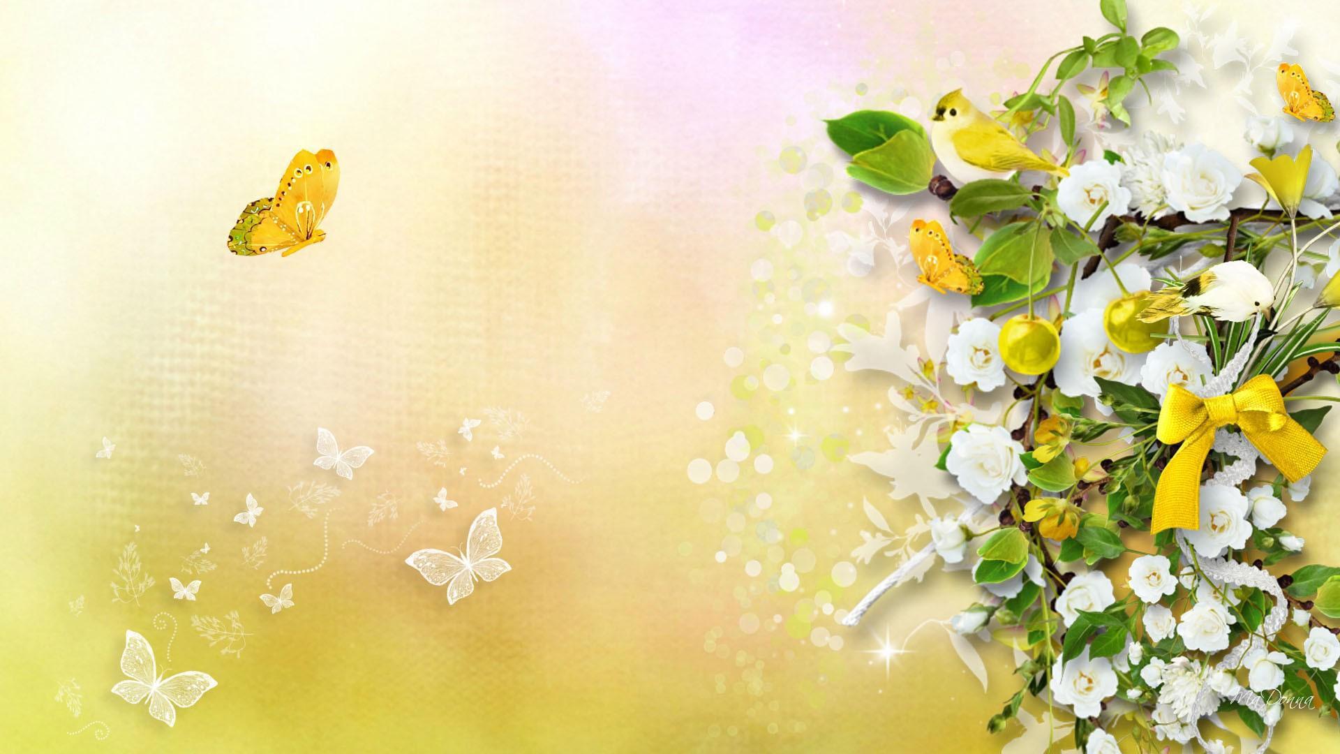 Desktop Wallpaper Hd 3d Full Screen Baby Yellow Sunshine Hd Desktop Wallpaper Widescreen High