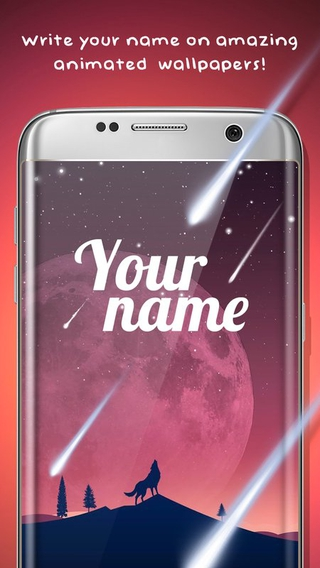 My name on Live Wallpaper APK 9.0 - download free apk from APKSum
