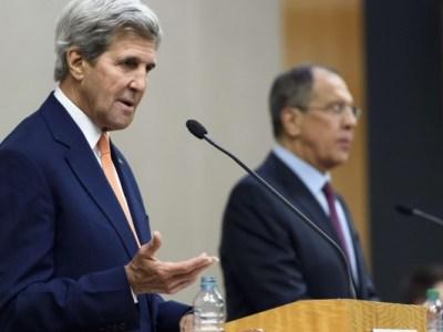 لقاء محتمل بين لافروف وكيري لبحث ملف سورية