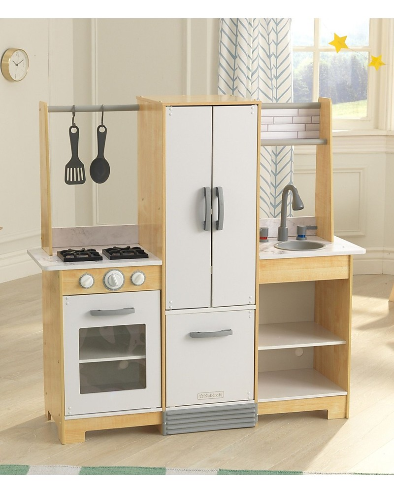 Cucina Bambini Kitchen Kidkraft Modern Day Play Kitchen Really Easy To Assemble Wood