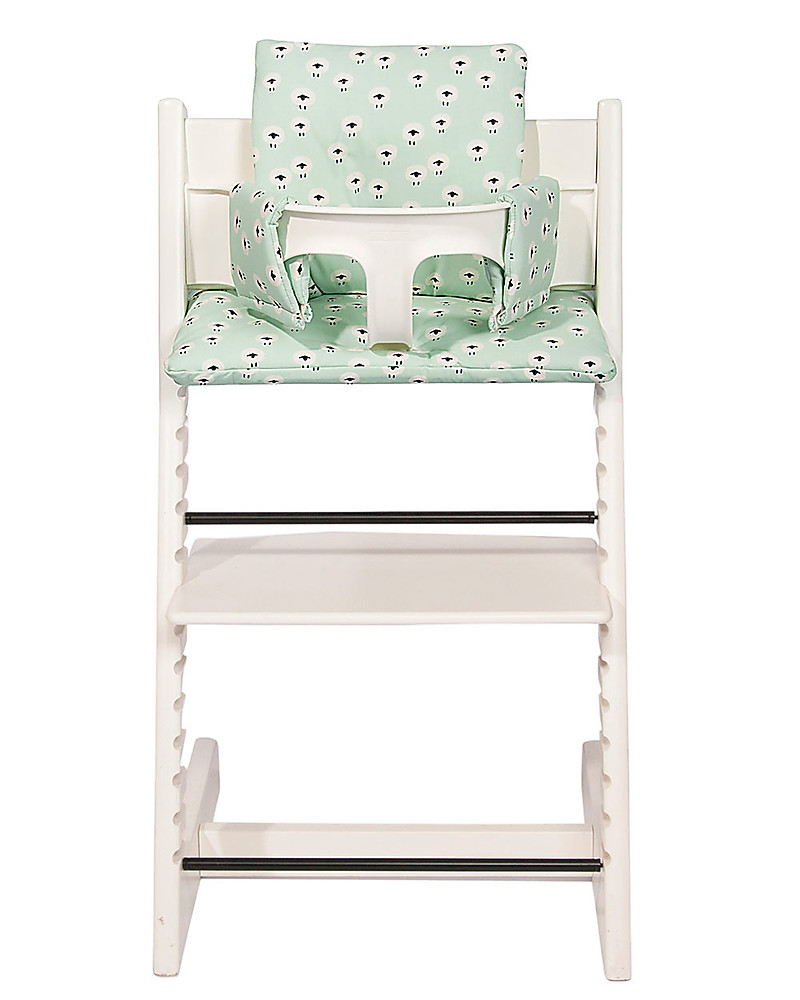 Sedia Stokke Baby Trixie Cushion For Stokke Tripp Trapp High Chair Sheep 100