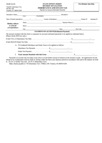 Fillable Form It-ep - Inheritance And Estate Tax (04-09 ...