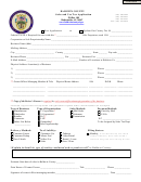 Occupational Tax Application - Banks County printable pdf ...