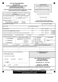 Top 89 Philadelphia Tax Forms And Templates free to ...