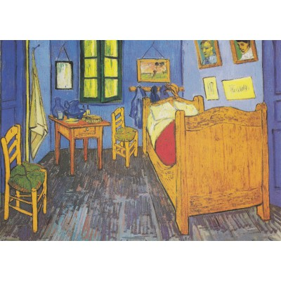 Pièces Magnétiques - Vincent Van Gogh  La Chambre de Van Gogh à - Description De La Chambre De Van Gogh