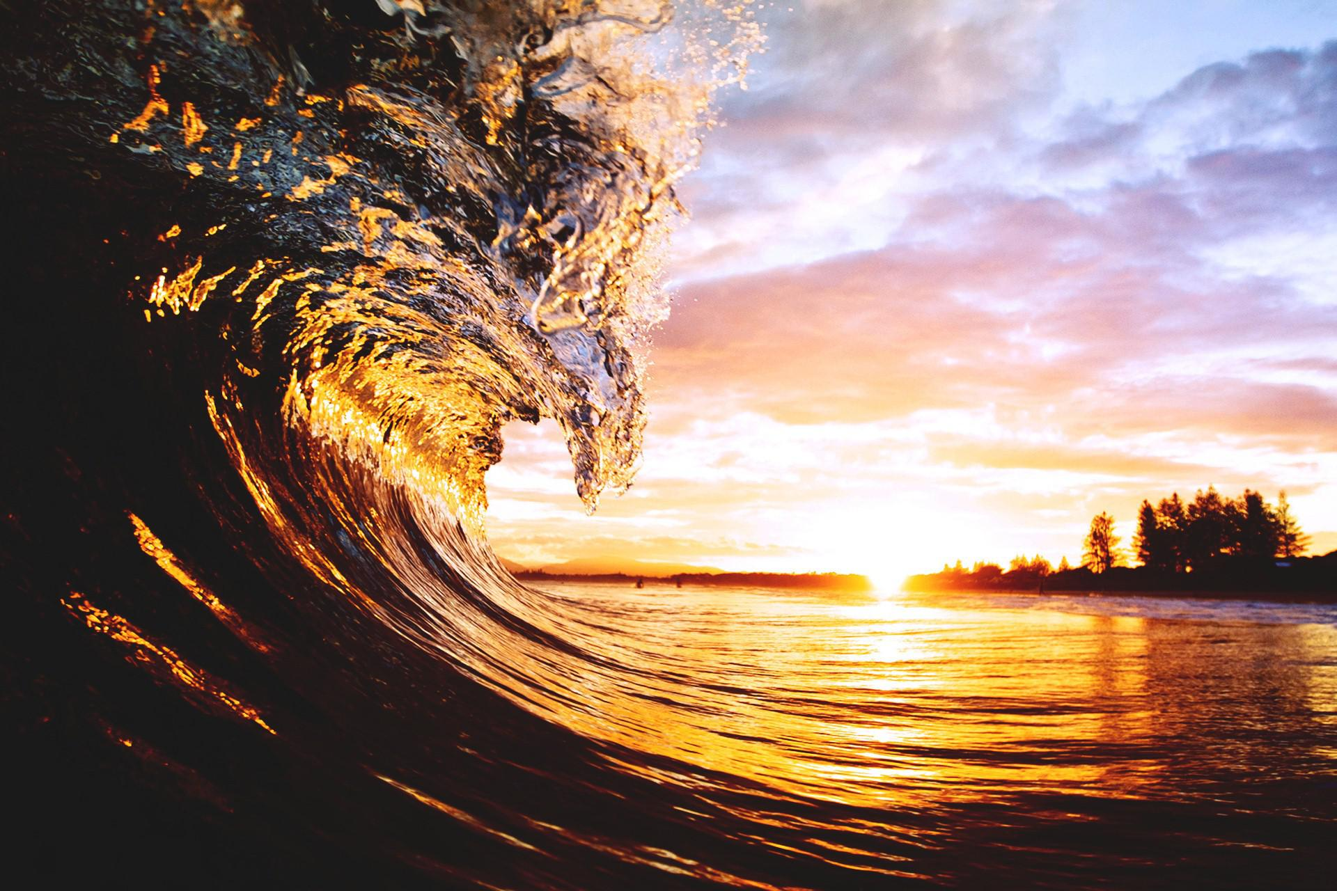 Best 3d Moving Wallpapers For Desktop Hd Beach Waves Wallpaper Download Free 140487