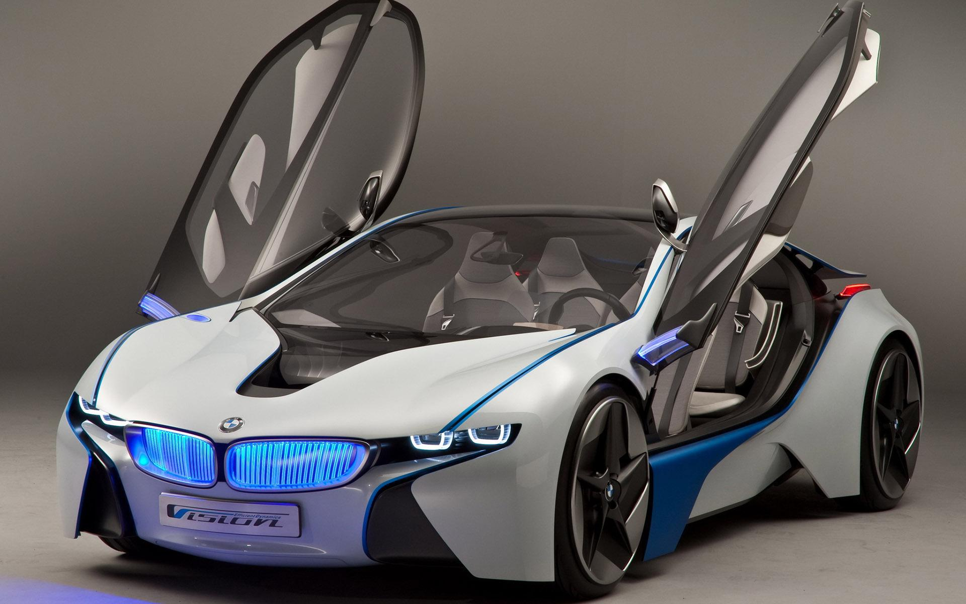 Good Night 3d Moving Wallpaper Hd Bmw I8 With Open Doors Wallpaper Download Free 148907