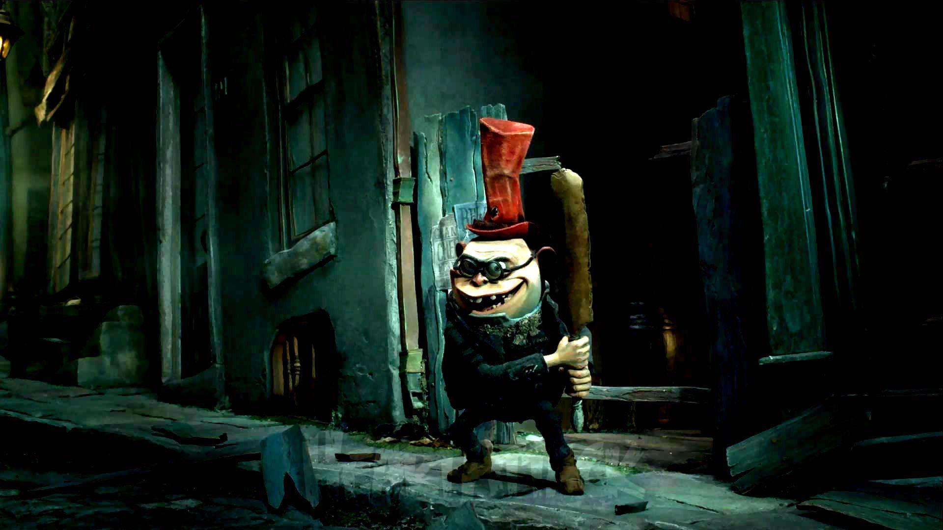 3d Clown Wallpaper Hd Boxtrolls Animation Family Comedy Cartoon Movie Film