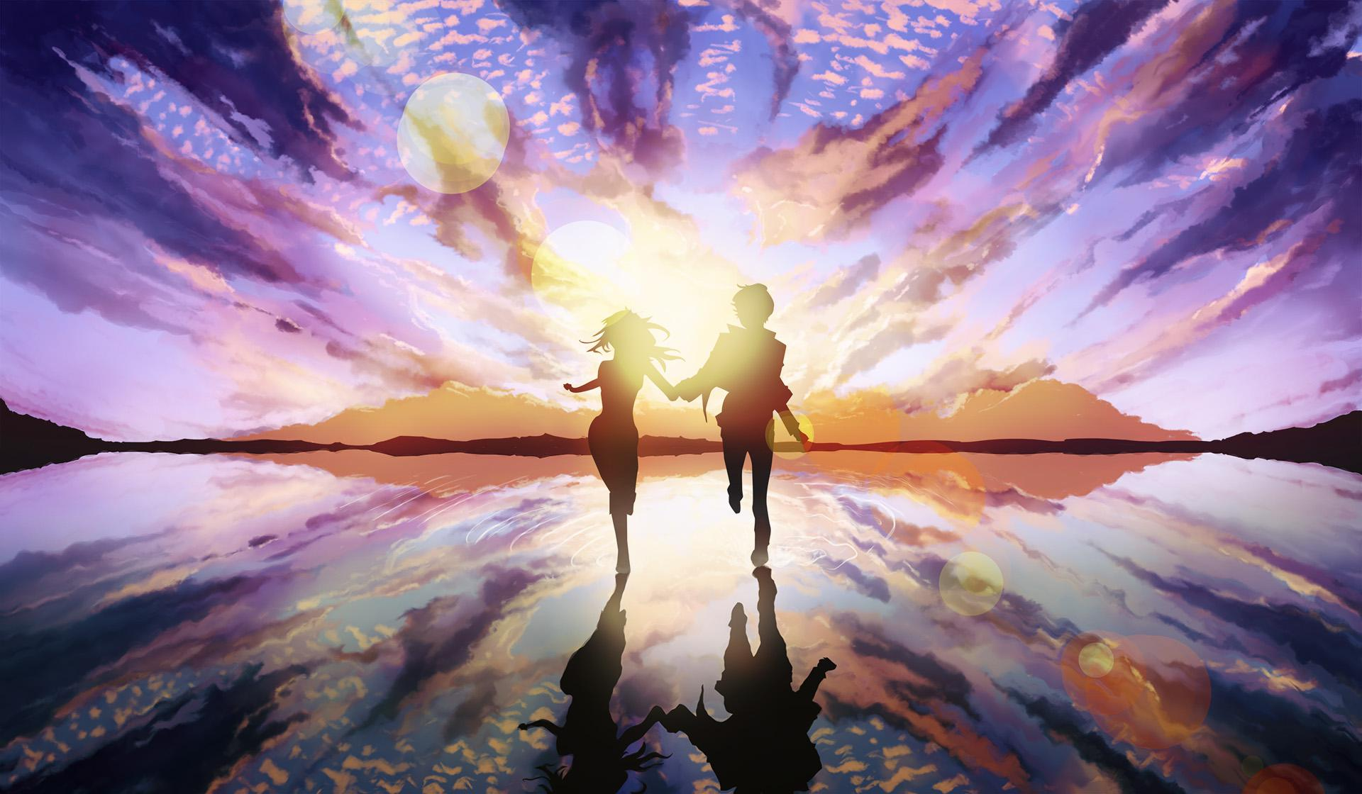 Animated Happy New Year D Hd Couple Love Art Wallpaper Download Free 143889