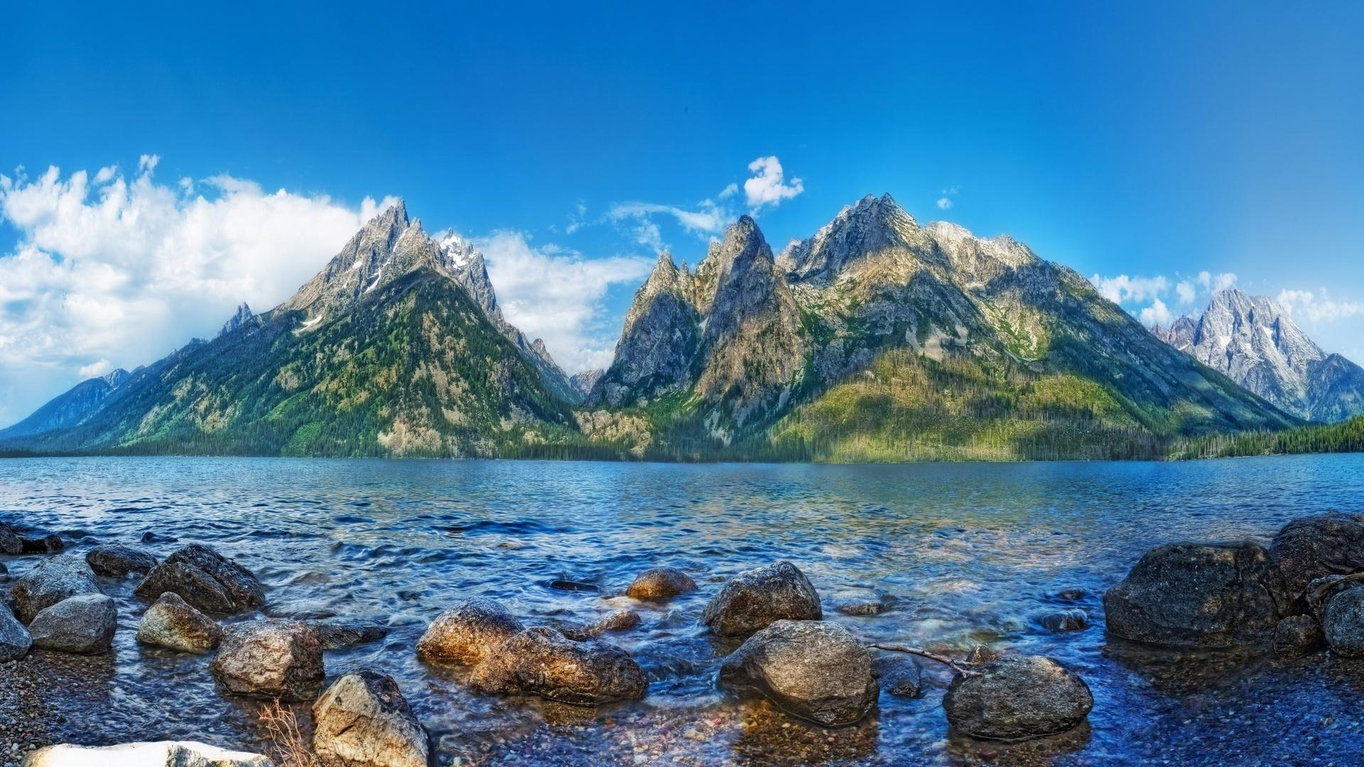 Animated Happy New Year D Hd Jenny Lake In Grand Teton National Park Wallpaper