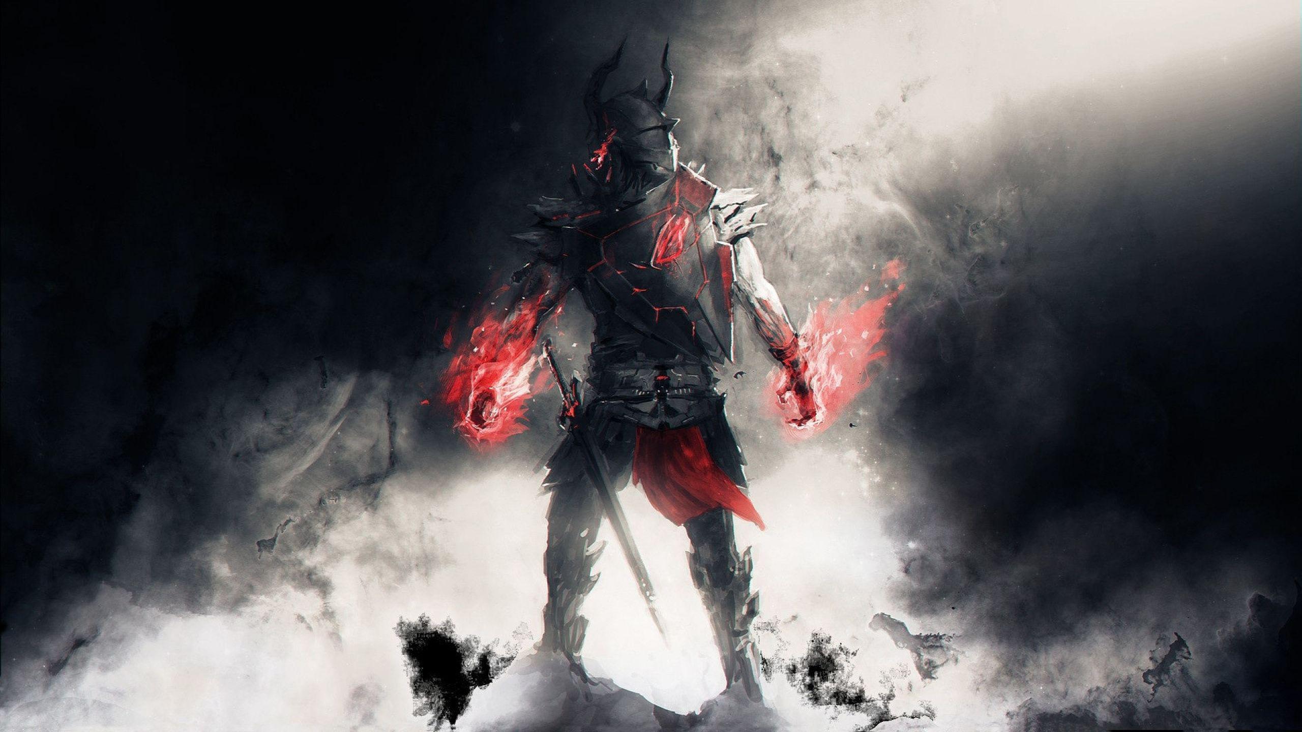 Skyrim Animated Wallpaper Hd Lords Fallen Fantasy Warrior Armor Sword Weapon Free